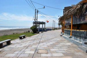 Auslandsaufenthalt Peru Strand