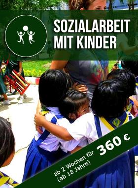 Freiwilligenarbeit Thailand Sozialarbeit mit Kindern