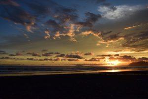 Erfahrungsbericht Costa Rica Sonnenuntergang Christina