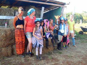 Pferde Costa Rica Praktikum Menschen