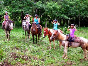 Ausritt Costa Rica Auslandspraktikum
