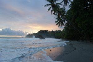 Sonnenuntergang Costa Rica Praktikum