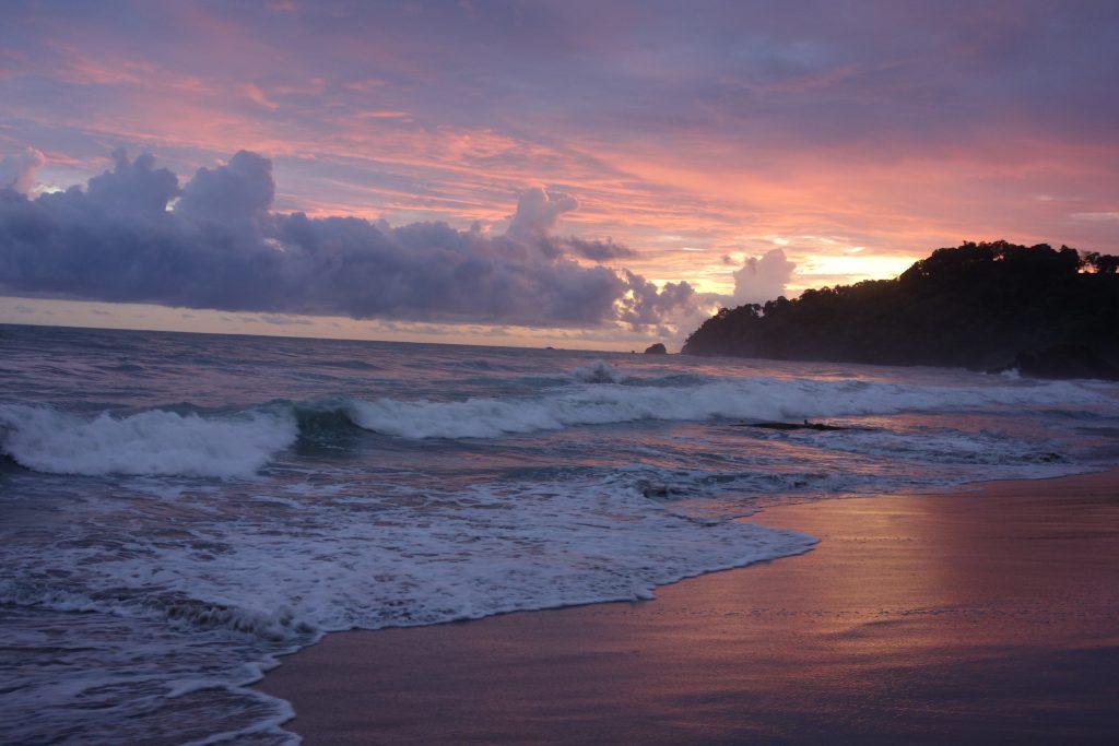 Sonnenuntergang Auslandspraktikum