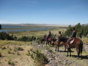 Reitpraktikum Peru Ausritt