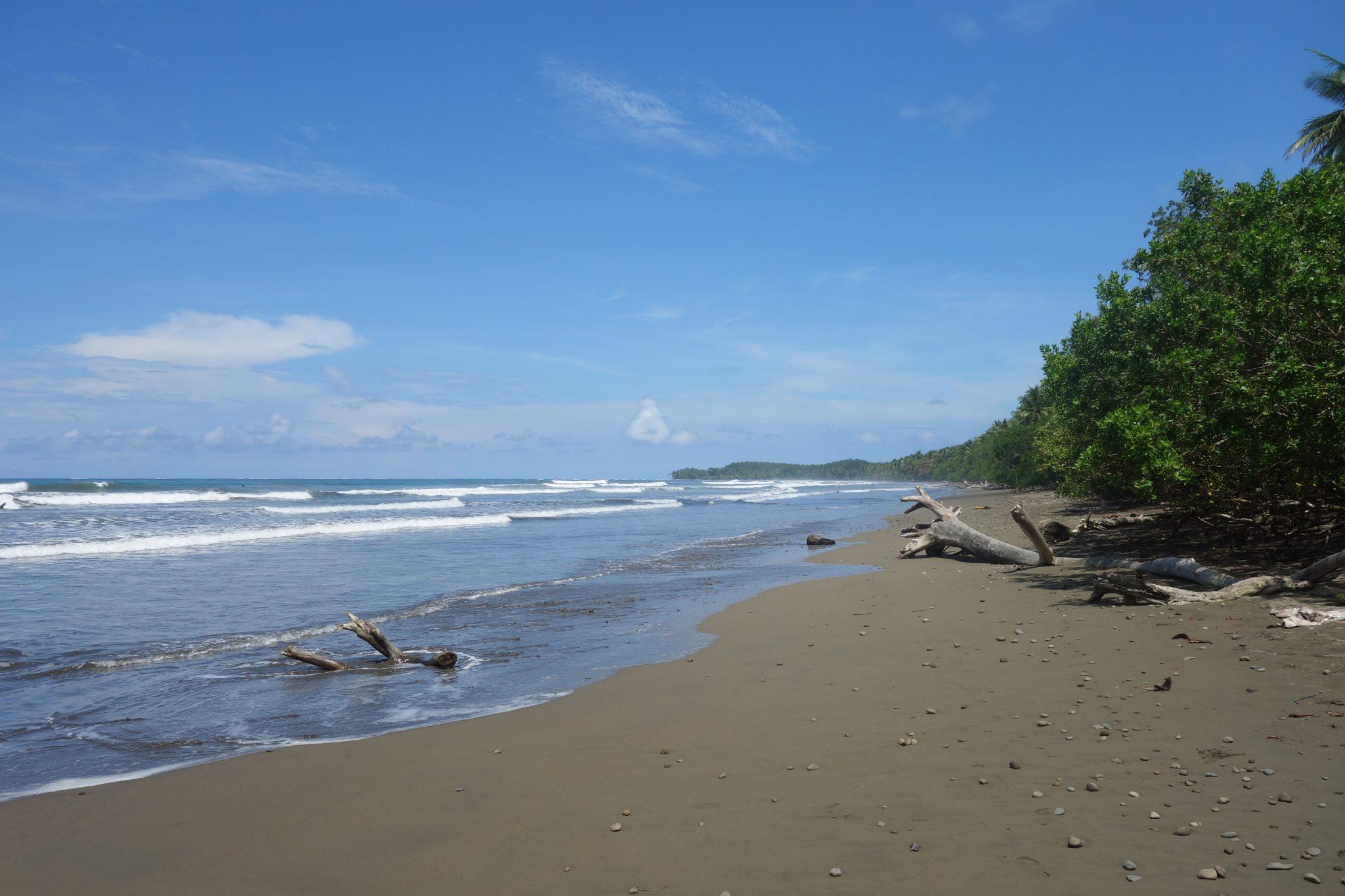 beach strand Costa Rica Uvita