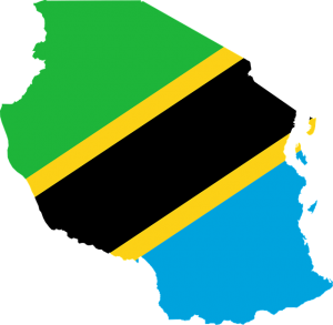 tansania map