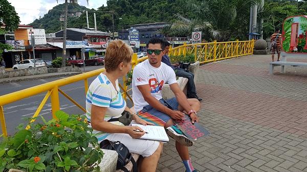 Interview Journalismus Praktikum Costa Rica