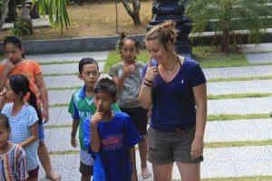 Freiwilligenarbeit Bali Erfahrungsbericht Janin
