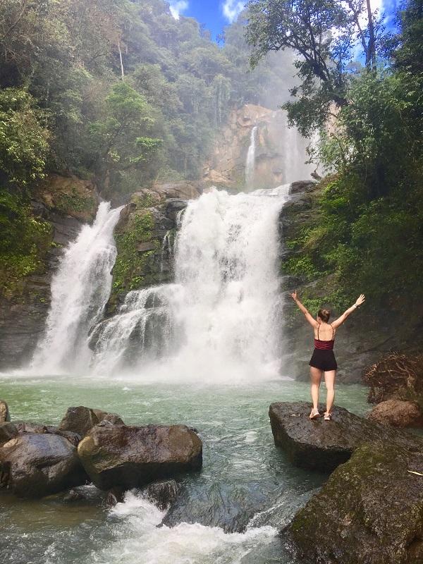 Erfahrungsbericht Costa Rica Wasserfall