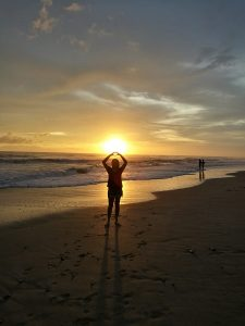 Erfahrungsbericht Costa Rica Sonnenuntergang