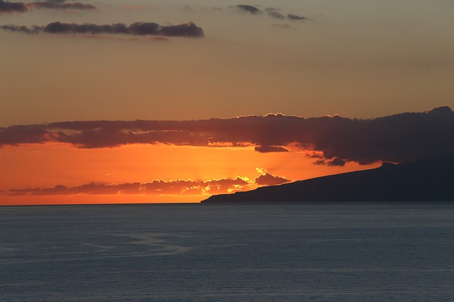 Auslandspraktikum Teneriffa Spanien sunset