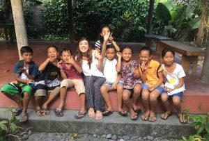Volunteering Bali, Kinder Schule