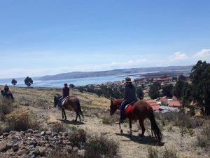 Reitpraktikum Peru See