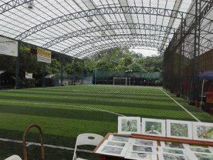 Fußballspielen Costa Rica