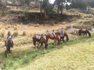 Reiten Peru Landschaft