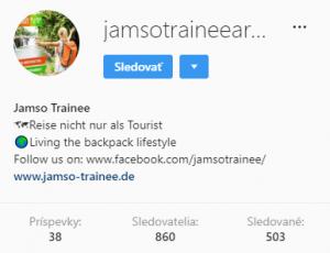 Jamso Trainee instagram de