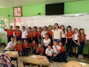 Grundschulkasse Costa Rica Praktikum