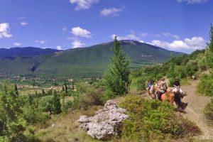 Griechenland Berge Reiten