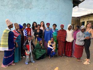 Freiwilligenarbeit Frauenhaus, Afrika