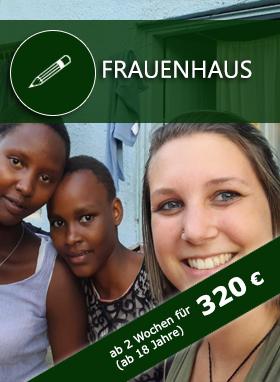 Freiwilligenarbeit Tansania, Volunteering Frauenhaus