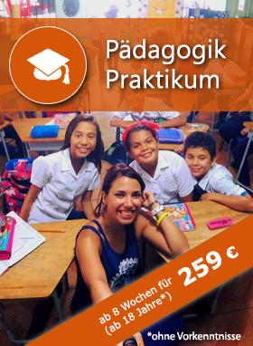 Pädagogik Praktikum Costa Rica, Auslandspraktikum