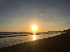 Sonnenuntergang in Costa Rica am Strand