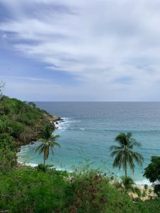 Ausblick Bucht Costa Rica, Nationalpark