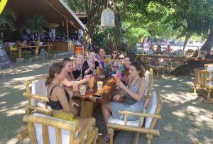 Freiwillige Ausflug Drinks Bar