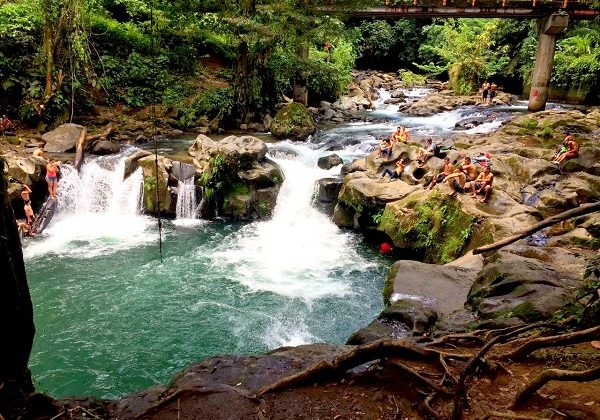 Wasserfall Costa Rica Reisebereicht