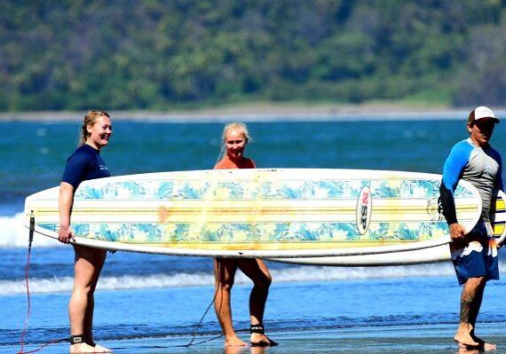 Surfen Costa Rica Reisebereicht Iva