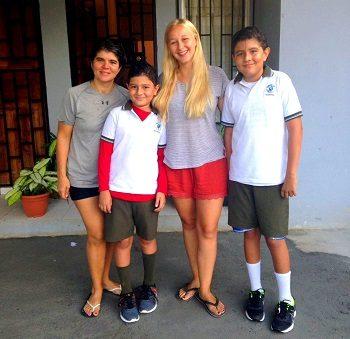 Sprachreise und Freiwilligenarbeit Iva